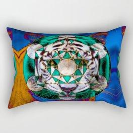 Sacred Tiger Rectangular Pillow