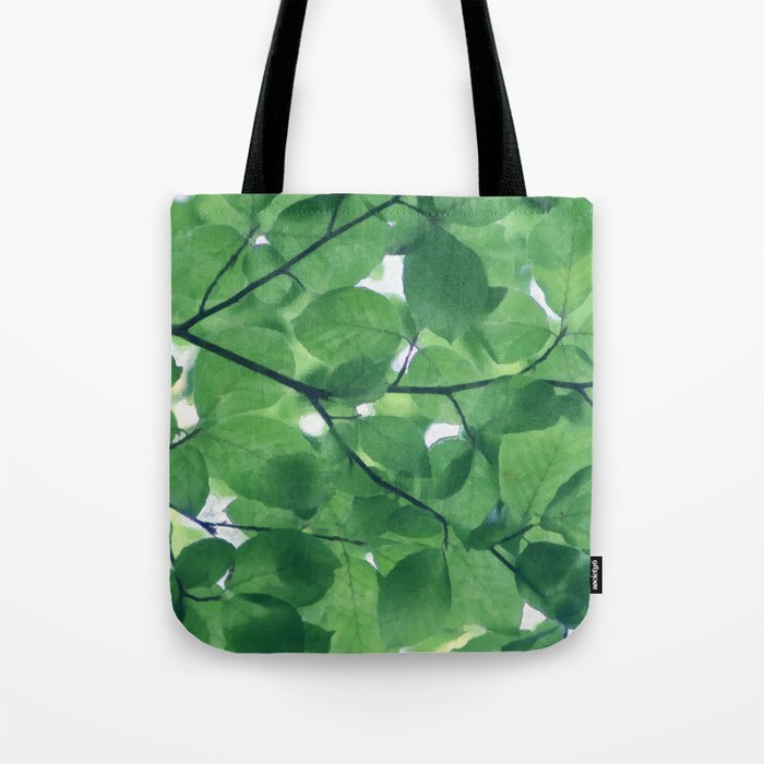 Greenery leaves Tote Bag