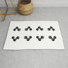 8 of clubs Rug