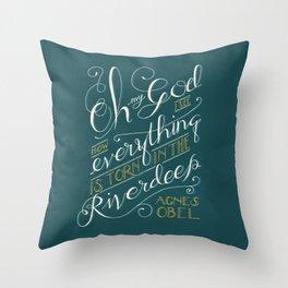 Riverdeep Throw Pillow