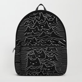 Cat Division Sans Serif Backpack
