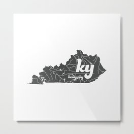 Kentucky Metal Print