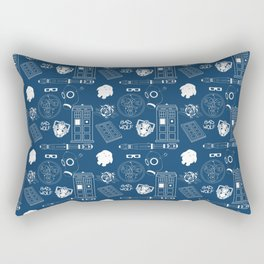 Wibbly wobbly... stuff Rectangular Pillow