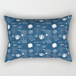 Wibbly wobbly... stuff Rectangular Pillow
