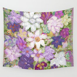 Spring floral Wall Tapestry