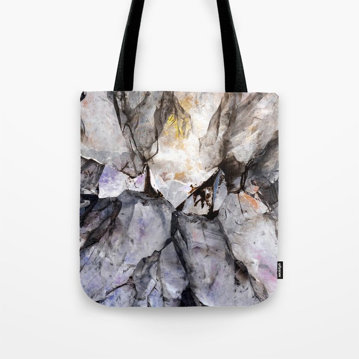 Crystal texture Tote Bag