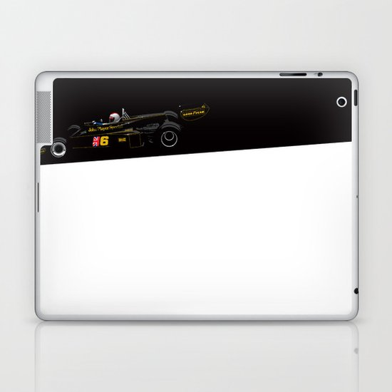 Mario Andretti, Lotus 77, 1976 Laptop & iPad Skin