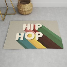 HIP HOP - typography Rug