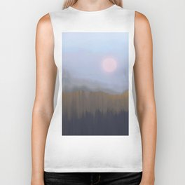 Winter Fog Biker Tank