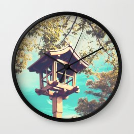 Japanese Lamp  (Retro Vintage Photography) Wall Clock