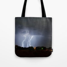 Lightning Triple Play Tote Bag