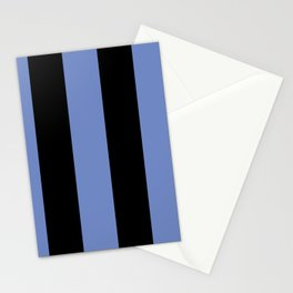 5th Avenue Stripe No. 4 in Lapis and Black Onyx Stationery Cards