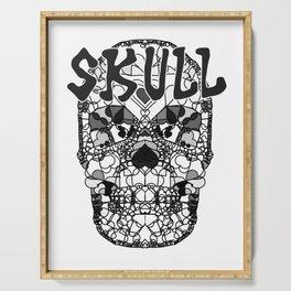 Skull - Día de Muertos / Day of the Dead Serving Tray