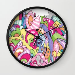 "Argument No. 3 - ""Laundry Pile"" Wall Clock"