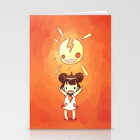 always sunny Stationery Cards featuring Sunny by Freeminds