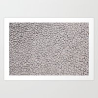 stone floor Art Print