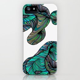 abstract digital 2.0 iPhone Case