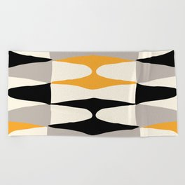 Zaha Bee Beach Towel