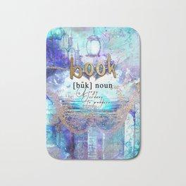 Magical Book Definition Bath Mat