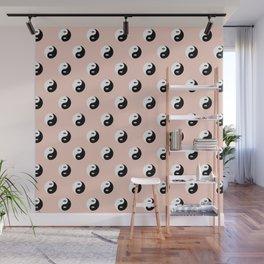 Yin Yang Eye Pattern Wall Mural
