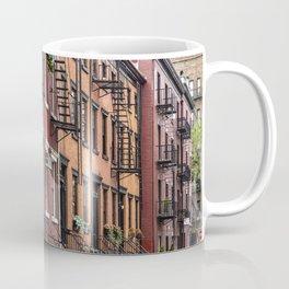 Picturesque street view in Greenwich Village, New York Coffee Mug