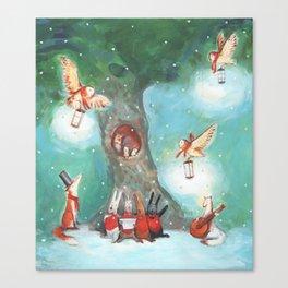 Forest Carol Canvas Print