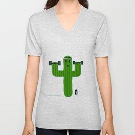 Gym Bro Cactus Unisex V-Neck