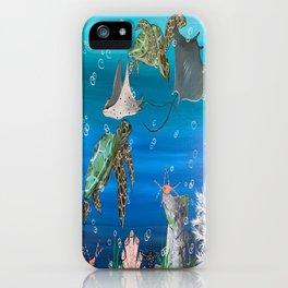 Four Swim iPhone Case
