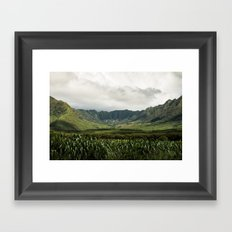 Waianae Valley Framed Art Print