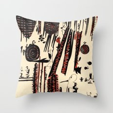 it`s business as usual Throw Pillow