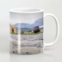 castle Mugs featuring castle by  Agostino Lo Coco