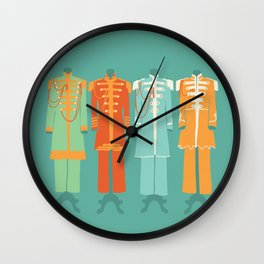 Sgt Peppers Lonely Hearts Club Wall Clock