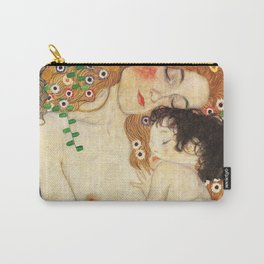 Mother and Baby - Gustav Klimt Carry-All Pouch