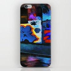 Neon Graffiti iPhone & iPod Skin