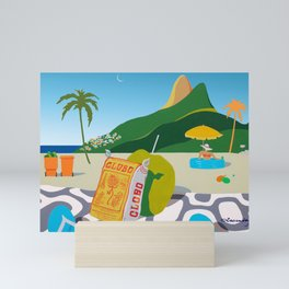 GLOBO COOKIES IN RIO Mini Art Print
