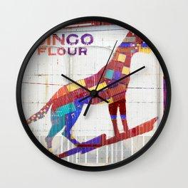 Dingo Flour Wall Clock