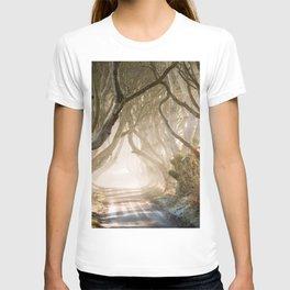 The Dark Hedges - GoT - Co. Antrim - Northen Ireland T-shirt