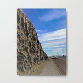 Cliffside of Súgandisey, Stykkishólmur, Snæfellsnes, Iceland (3) Metal Print