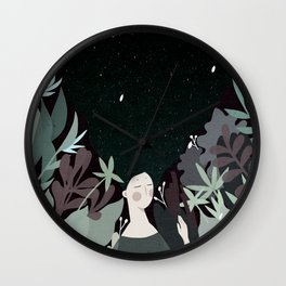 sleepiness Wall Clock