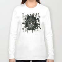 dark side Long Sleeve T-shirts featuring Dark side by Gilles Bosquet