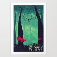 Brayflox's Longstop   FFXIV Art Print