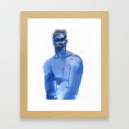 Blue Boy Framed Art Print