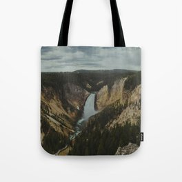 Yellowstone National Park Falls Tote Bag