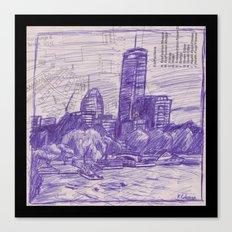 Charles River Esplanade 1 Canvas Print