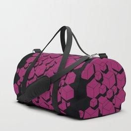 3D Futuristic Cubes VII Duffle Bag