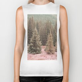Look For Me In The Trees Biker Tank