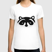 racoon T-shirts featuring racoon! by gal shkedi