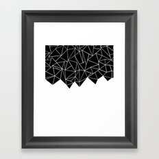 Ab Triangulation Framed Art Print