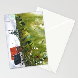 houses at the Cap Stationery Cards