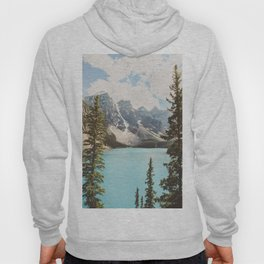 Moraine Lake II Banff National Park Hoody
